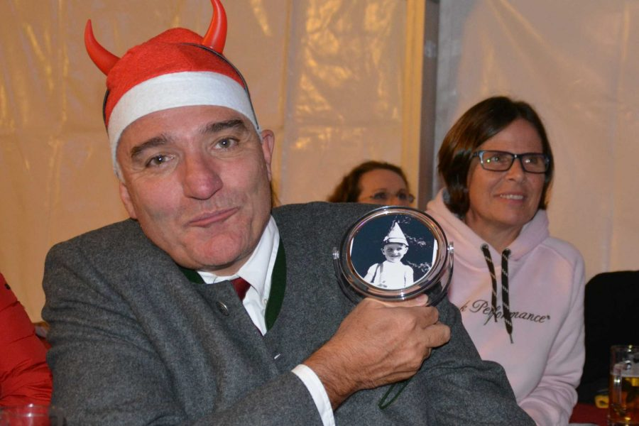 60er Feier Bürgermeister Klaus Manzl