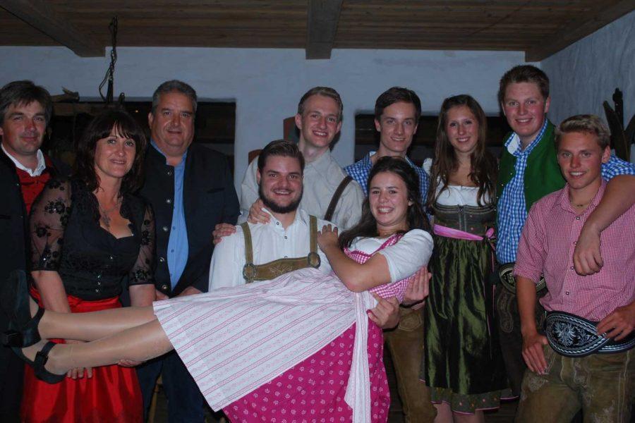 Ellmauer Jungbürgerfeier