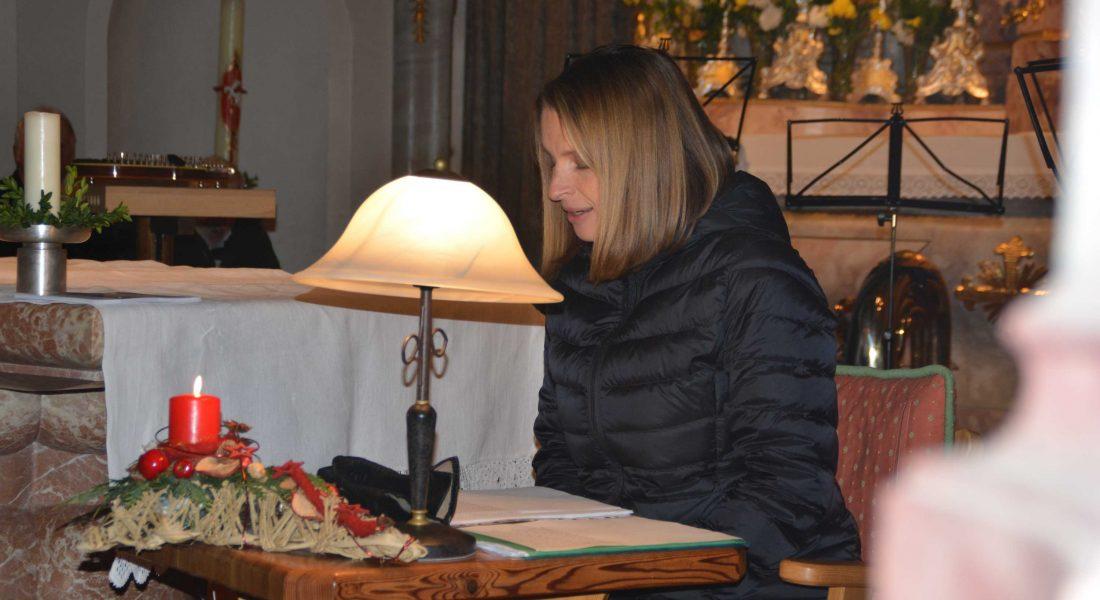 Adventlesung Barbara Stöckl für RollOn Austria in Ellmau