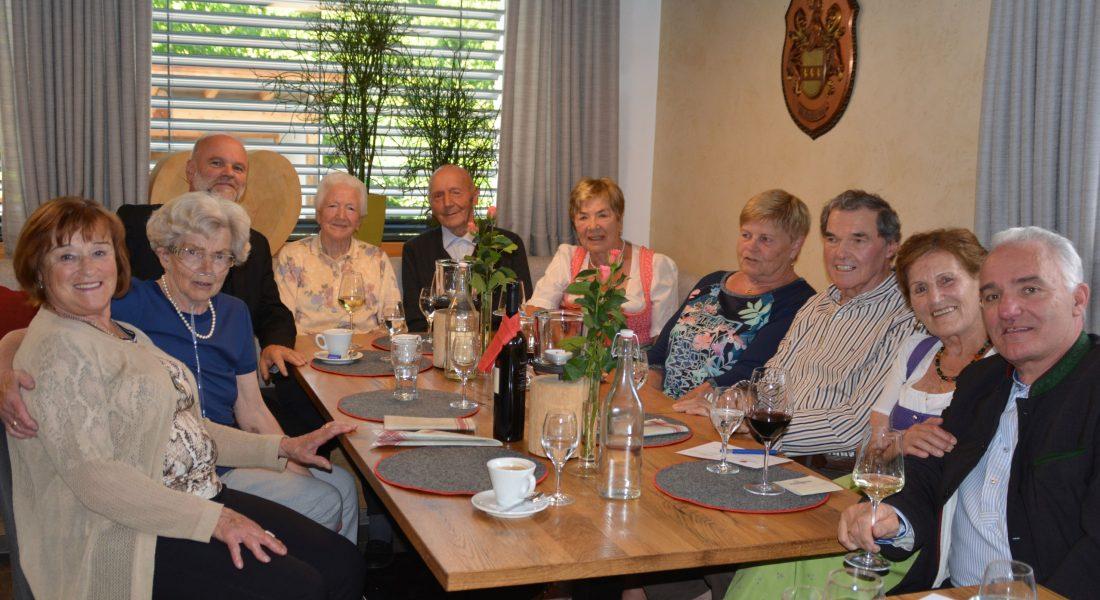 Treffen der Ellmauer Geburtstags-Jubilare