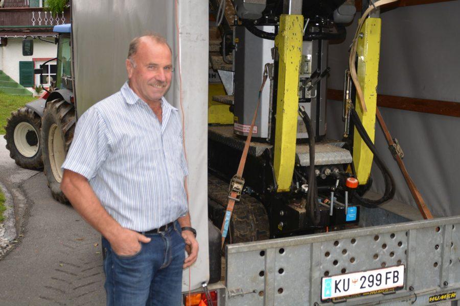 Alois Horngacher 30 Jahre Totengräber in Ellmau und Scheffau