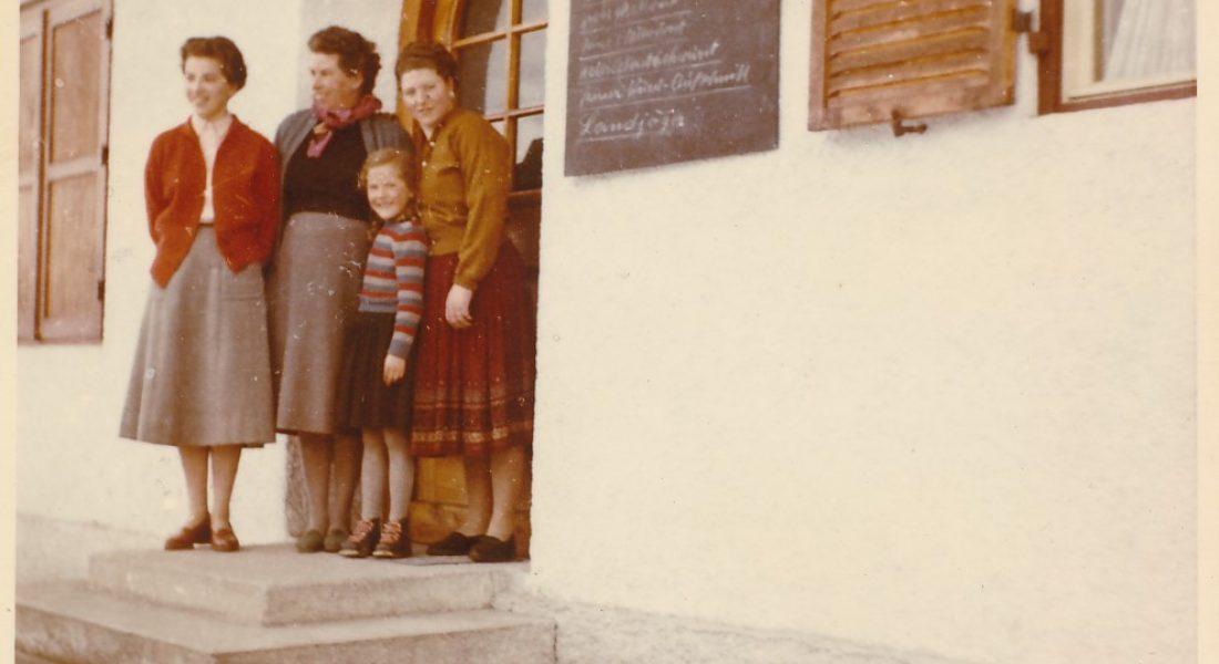 Metzgerei Landmann – Tochter Maria Seywald erinnert sich