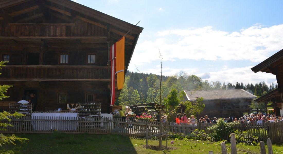 Einweihung RIED bei Sommereinläuten Heimatmuseum