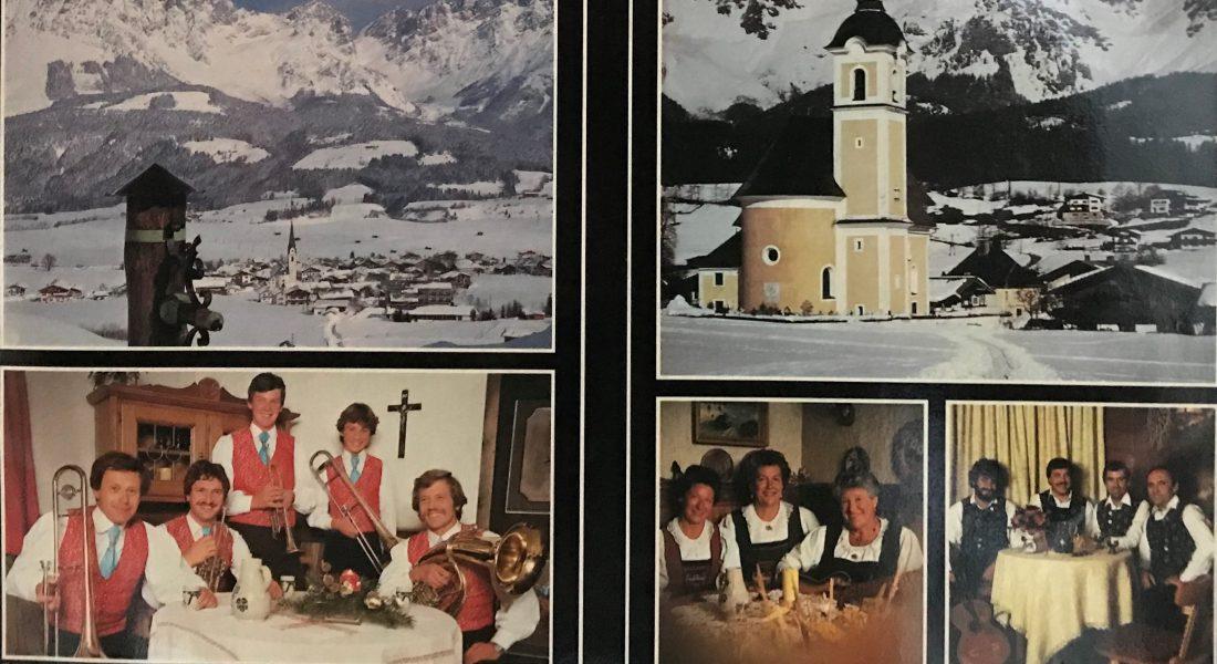 """Schallplatte """"Weihnacht am Wilden Kaiser"""" 1982"""
